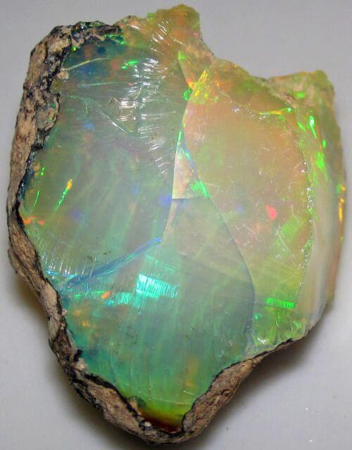 Hydrophane - opalo hidrofana