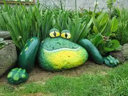 rana verde jardin