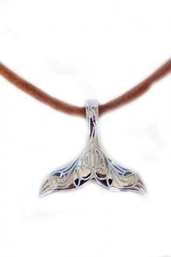 Collar cola de sirena en plata 925