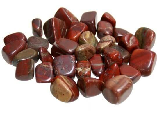 Piedras curativas jaspe sardo rodados