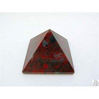 Piramide para meditacion de Jaspe Sardo