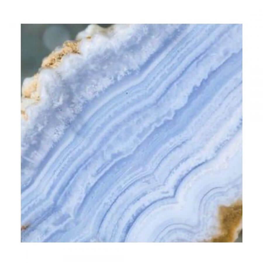 agata azul de  encaje