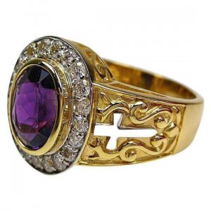 anillo amatista obispo