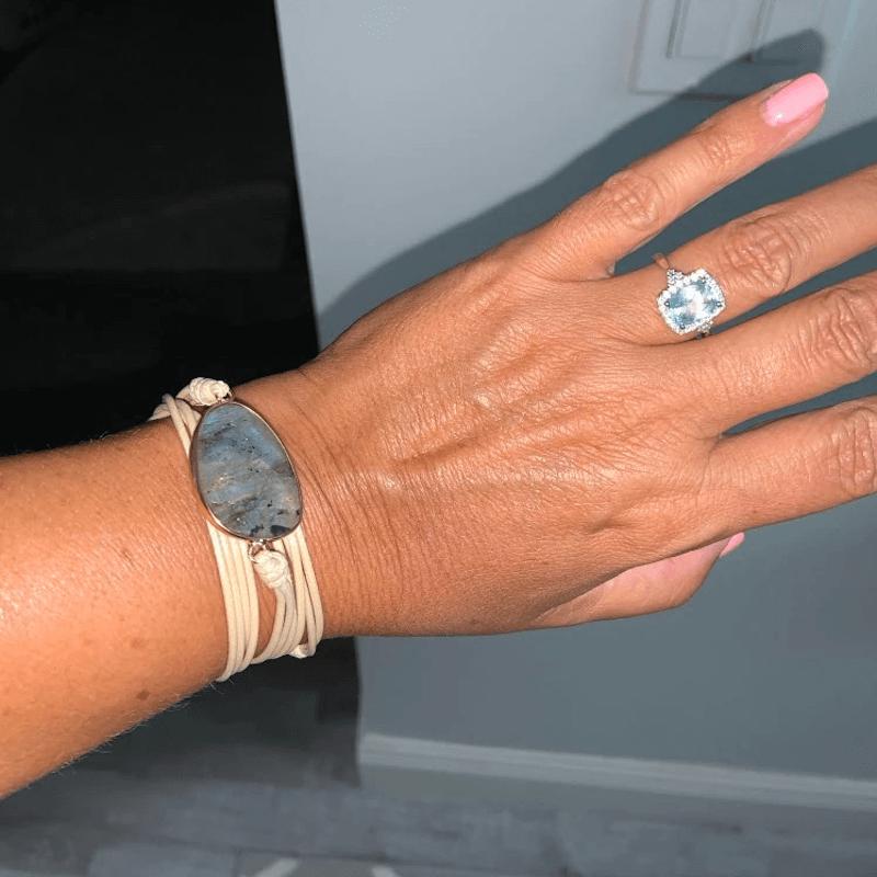 pulsera piedraluna de la india