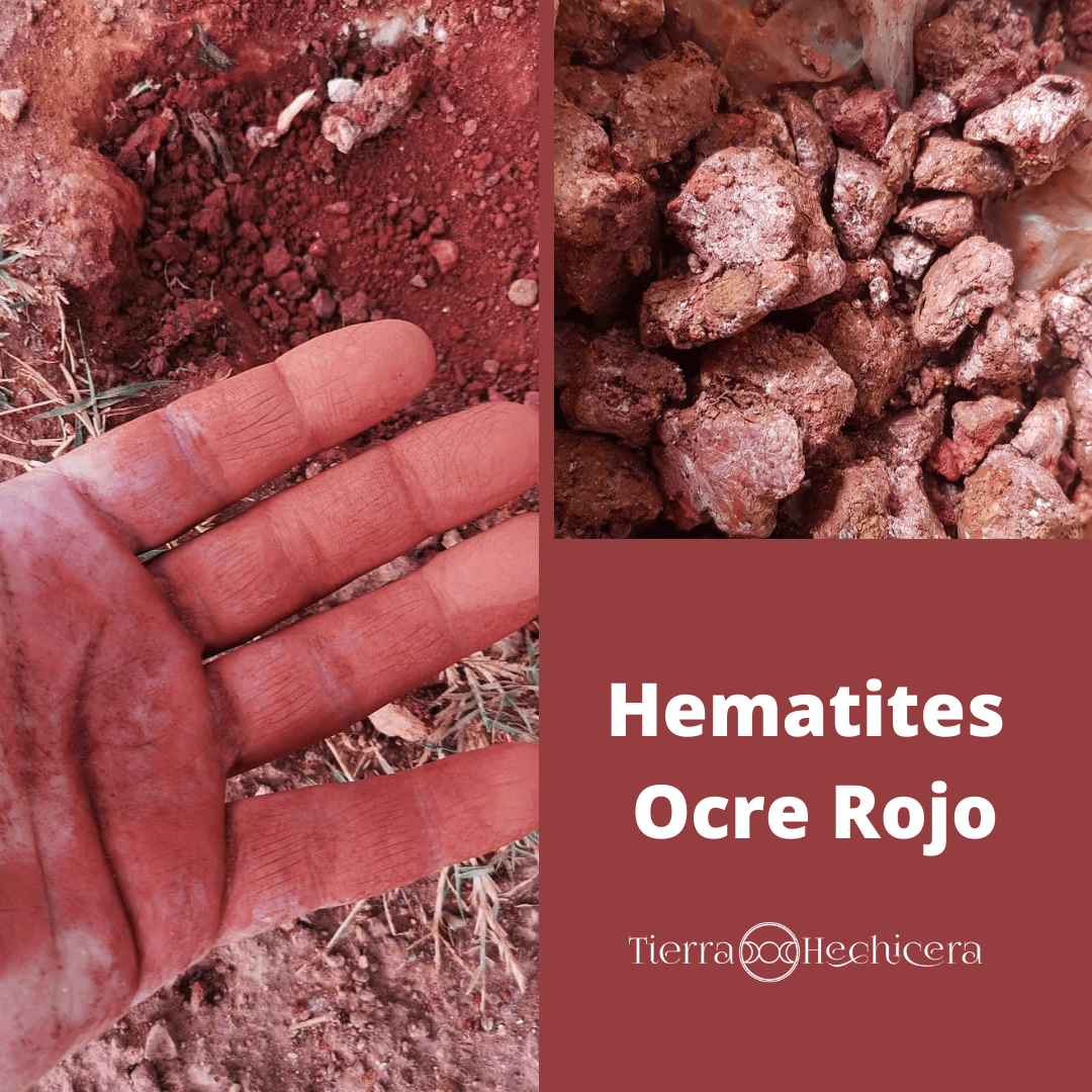 Hematites Ocre Rojo