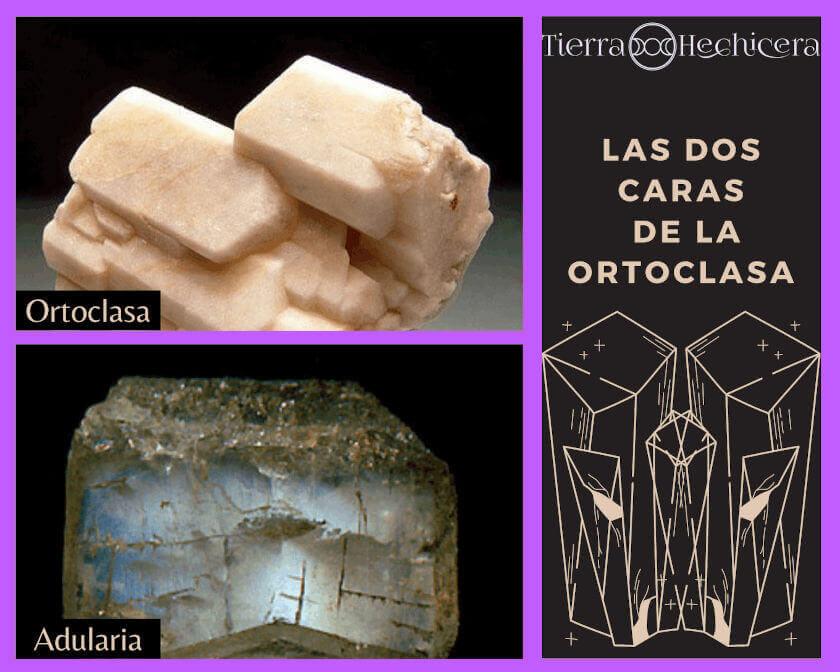 Adularia y ortoclasa