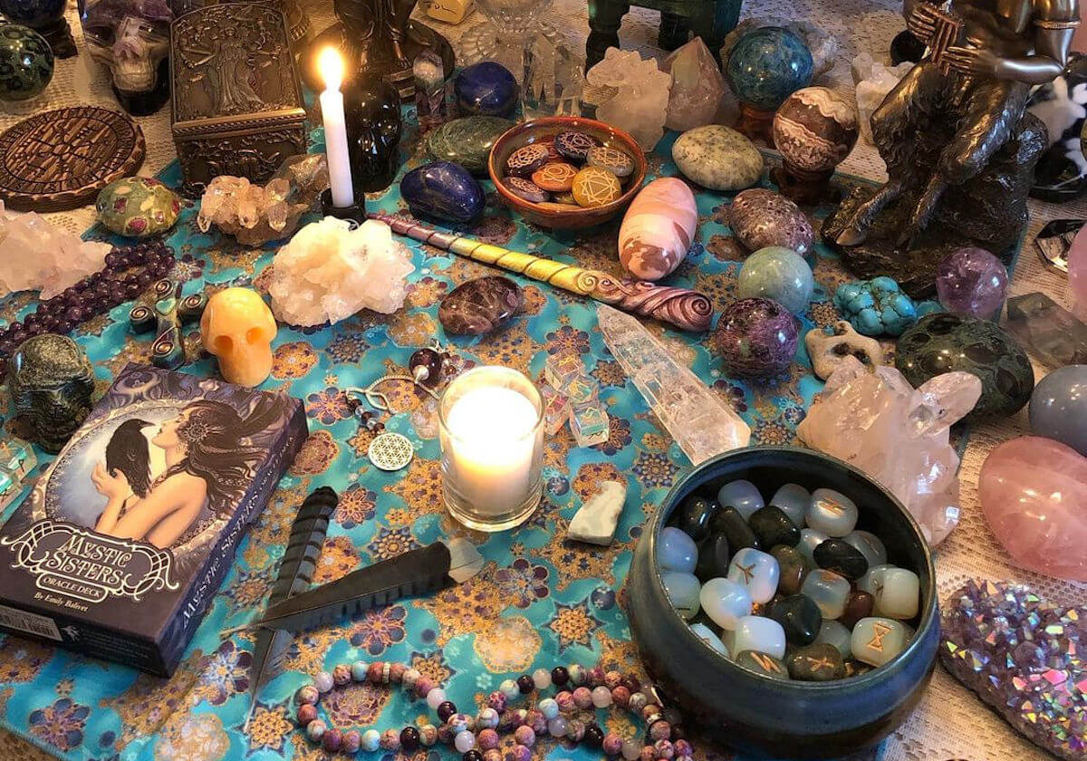 baby witch Cristales para principiantes